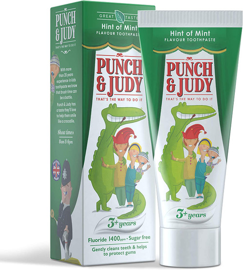 Punch and Judy Healthy Teeth Mint Flavour Toothpaste
