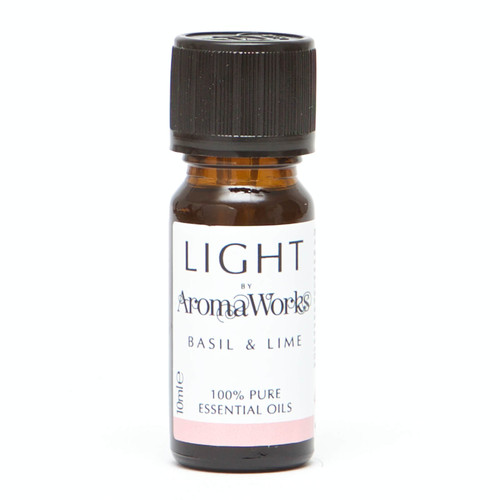 AromaWorks Light Range Basil and Lime Essential Oil-10ml