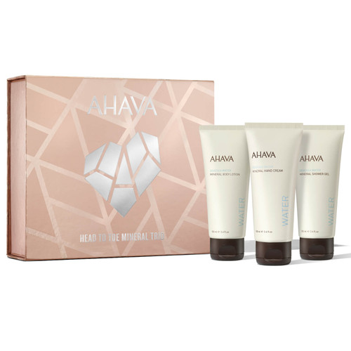 AHAVA Head to Toe Mineral Trio Gift Set
