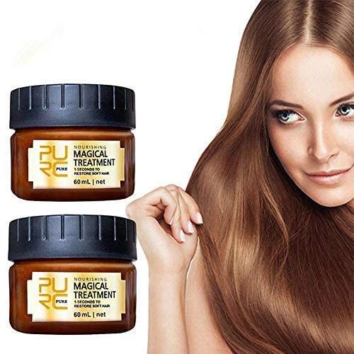 2 Pack Magical Restore Soft Hair Treatment Mask - 60ml