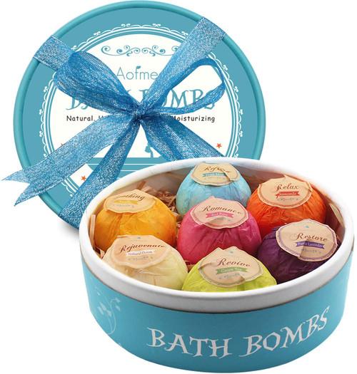 Aofmee Younger Skin Bath Bombs Gift Set