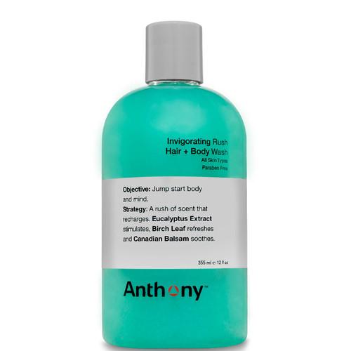 Anthony 2 in 1 Invigorating Rush Hair and Body Wash-355ml