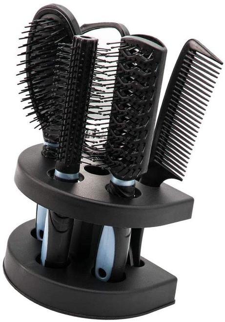 5pcs Hair Comb Set Women Ladies-Blue