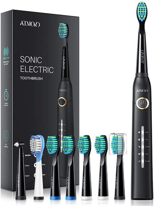 ATMOKO Sonic Electric Toothbrush With Smart Timer