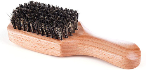 Kobe Professional Light Wood Club Hair Brush Ideal For Men