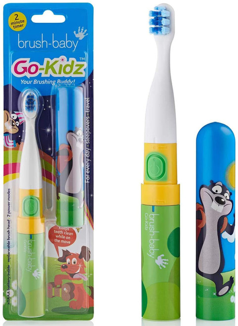 Brush-Baby Kids Electric Toothbrush With Two Minute Timer