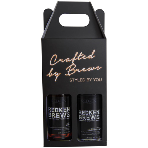 Redken Brews Essential Male Grooming Kit Gift Set