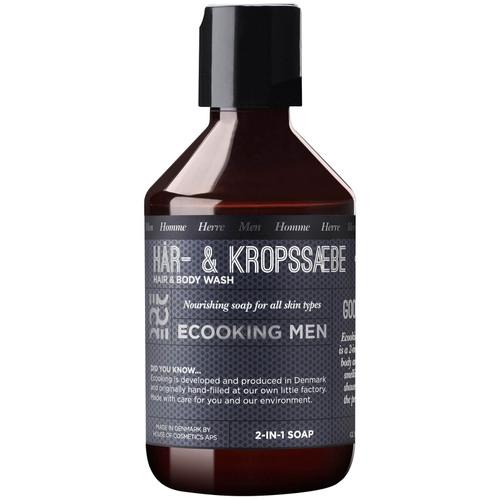 Ecooking  2-in-1  Men Hair & Body Wash-250ml