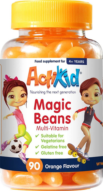 ActiKid Jelly Beans Orange Multivitamins