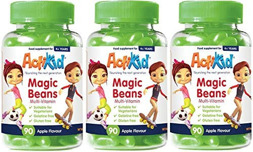 ActiKid Jelly Beans Apple Multivitamins - 3 Pack