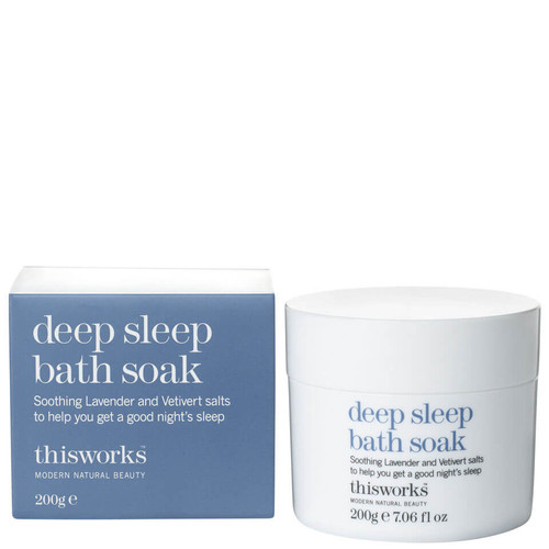 this works With Lavender and Camomile Deep Sleep Bath Soak-200g
