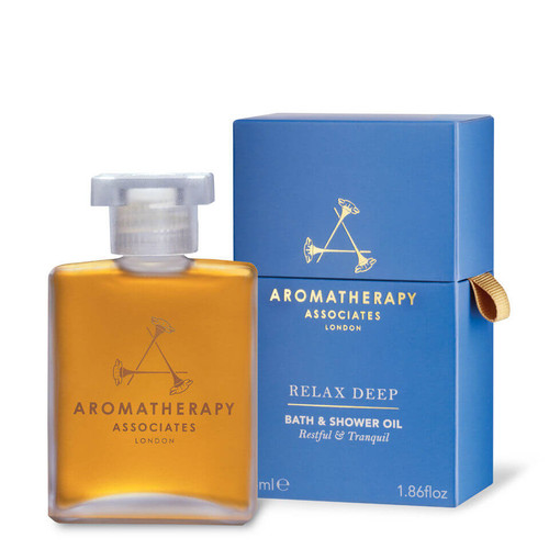 Aromatherapy Associates Bath & Shower Oil Relax Deep Relax-55ml
