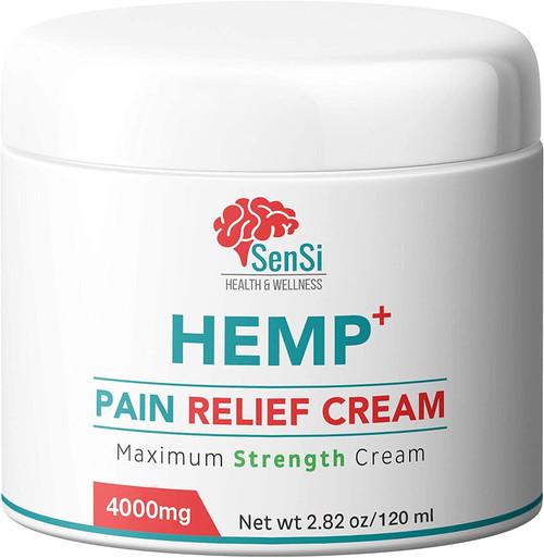 avAvape Sensi Aches Relief Natural Hemp Oil Cream