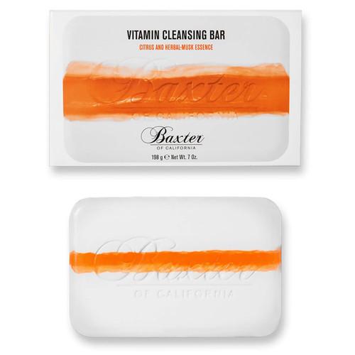Baxter of California Vitamin Cleansing Bar Citrus and Herbal Musk-198g