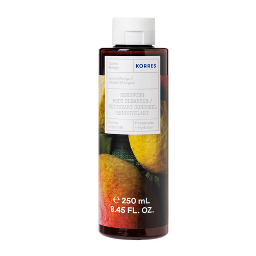 Korres Guava Mango Renewing Body Cleanser For Smooth Skin-250ml