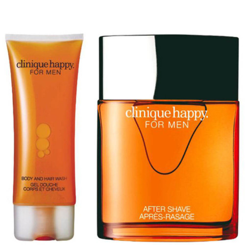 Clinique For Men Happy Duo Spray For Hair & Body Wash-100ml