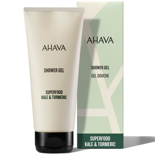 AHAVA Kale and Turmeric Shower Gel For Smooth Skin-200ml