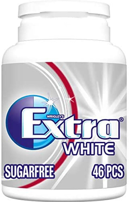 Extra White Fresh Breath Chewing Gum - 6 Packs