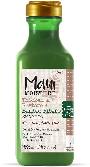 Maui Moisture Hair Thickening Shampoo Made with Bamboo Fibres