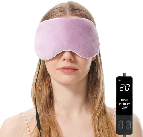 Aroma Season Soothing Warmth Eye Mask - Purple