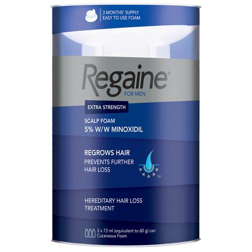 Regaine for Men Extra Strength Hair Regrowth Foam