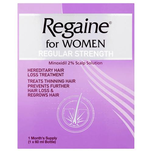Regaine for Women Regular Strength Hair Regrowth Solution-60ml