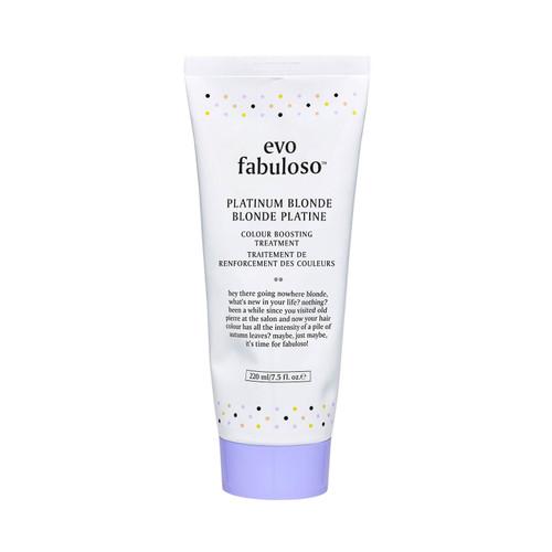 evo Fabuloso Platinum Blonde Colour Boosting Conditioner Treatment-220ml