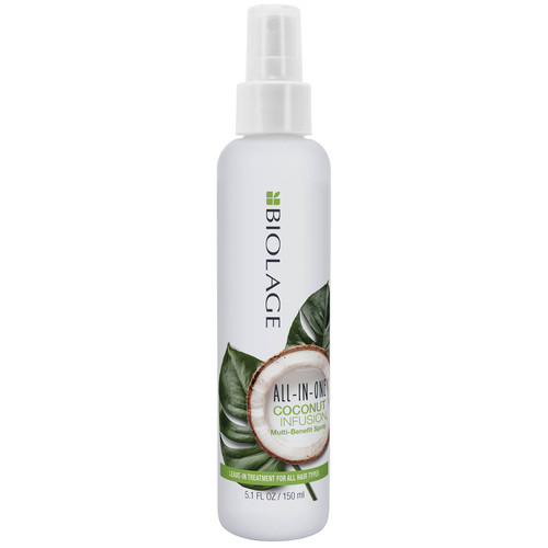 Biolage All-In-One Coconut Infusion Multi-Benefit Leave-In Spray-150ml