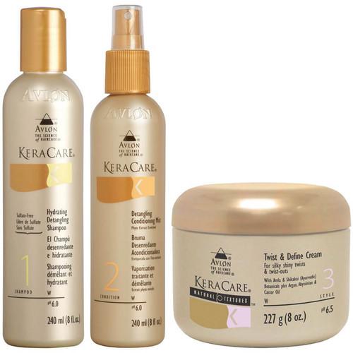 KeraCare Detangling Shampoo and Conditioner Duo Set