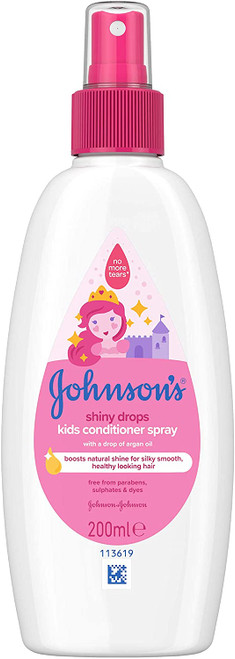 JOHNSON'S Shiny Kids Hair Conditioner Spray -  200ml