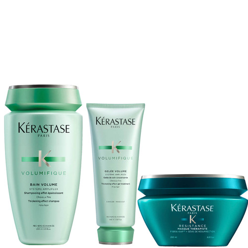 Kérastase Volumifique Shampoo Conditioner and Hair Mask Treatment