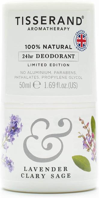 Tisserand AromatherapyDeodorant-Lavender & Clary Sage