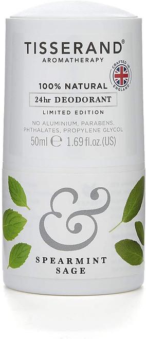 Tisserand AromatherapyDeodorant-Spearmint & Sage