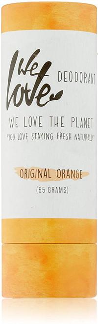 We Love The Planet Original Orange Natural Deodorant Stick