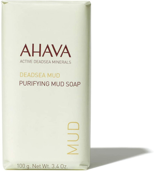AHAVA Purifying Dead Sea Mud Soap Bar-100g