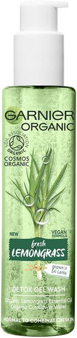 Garnier Organic Lemongrass Detox Gel Wash Cleanser-150 ml