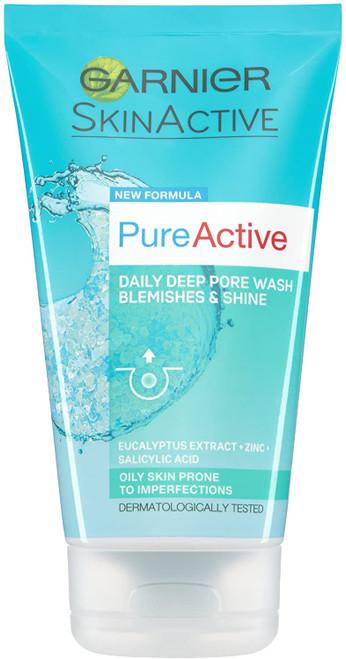 Garnier Pure Active Anti Blemish Deep Pore Face Wash-150 ml