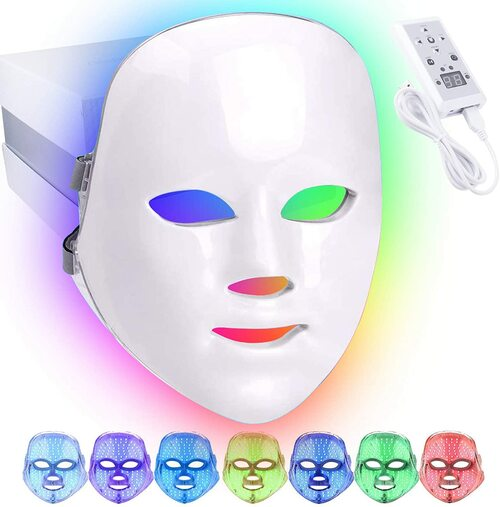 7 Color LED Facial Mask Skin Care Therapy Light Photon Mask