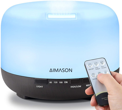 AIMASON Large Capacity Bedroom Essential Oil Diffuser