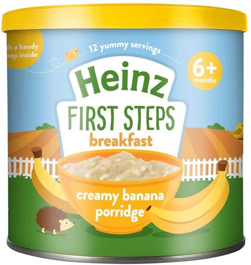 Heinz Baby First Step Creamy Banana Porridge - 240 g