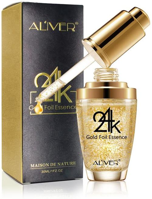 24K Gold Essence Collagen Skin Face Moisturizing Anti-Aging Mask