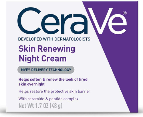 CeraVe Skin Renewing Night Cream for Face-48g