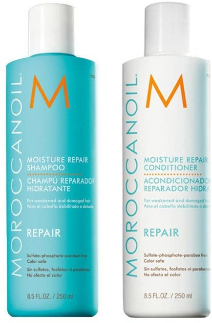 Moroccanoil Moisture Restore Shampoo And Conditioner Set -  250ml