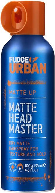 Fudge Urban Texturising Matte Up Hair Spray for Men - 135ml