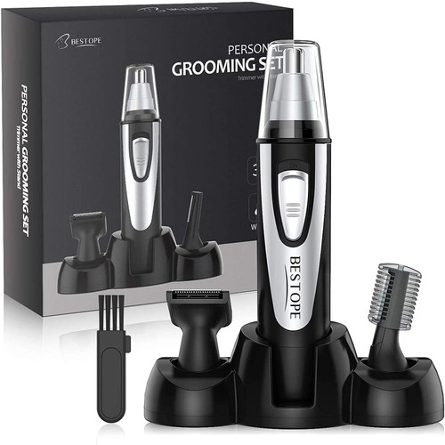 BESTOPE Electric 3 in 1 Nose and Ear Dual Edge Hair Trimmer