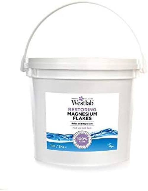 Westlab Natural Relaxing Magnesium Bath Flakes - 5kg