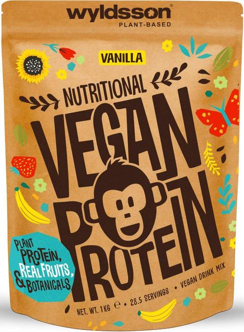 Wyldsson Nutritional Vegan Vanilla Protein Powder - 1kg
