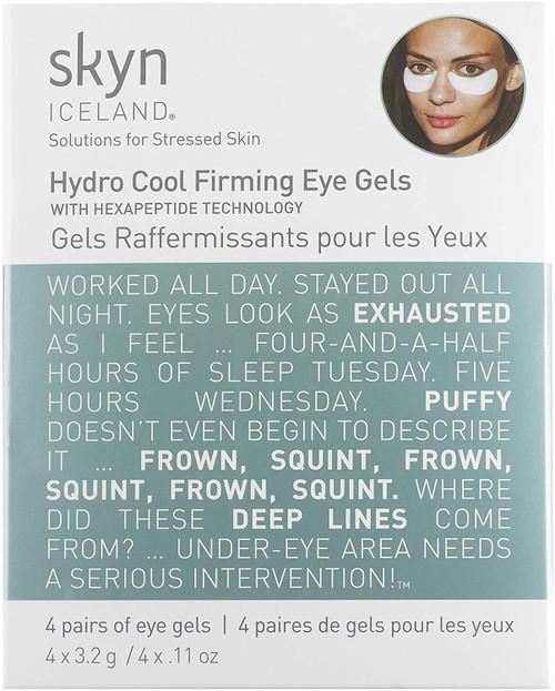 skyn ICELAND Hydro Cool Firming Eye Gels 4 Pairs