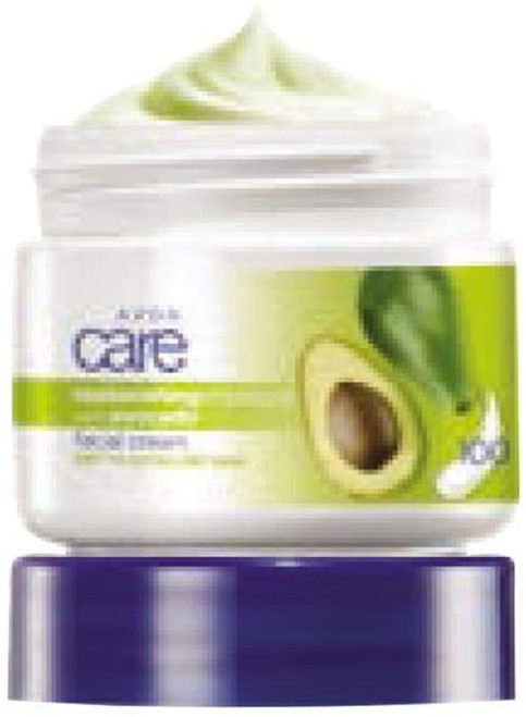 avon care replenishing moisture with avocade face cream