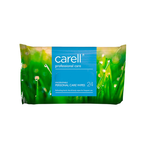 Carell Professional Care Personal Care Wipes Pack of 24 Wipes